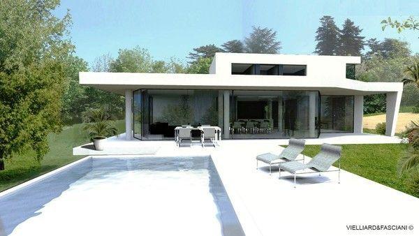 Maison contemporaine lyon for Maison et reflet lyon