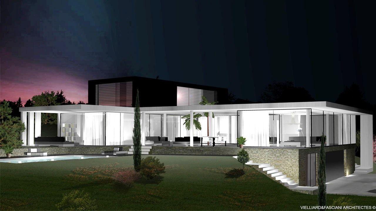 Architecte aix en provence for Villa contemporaine