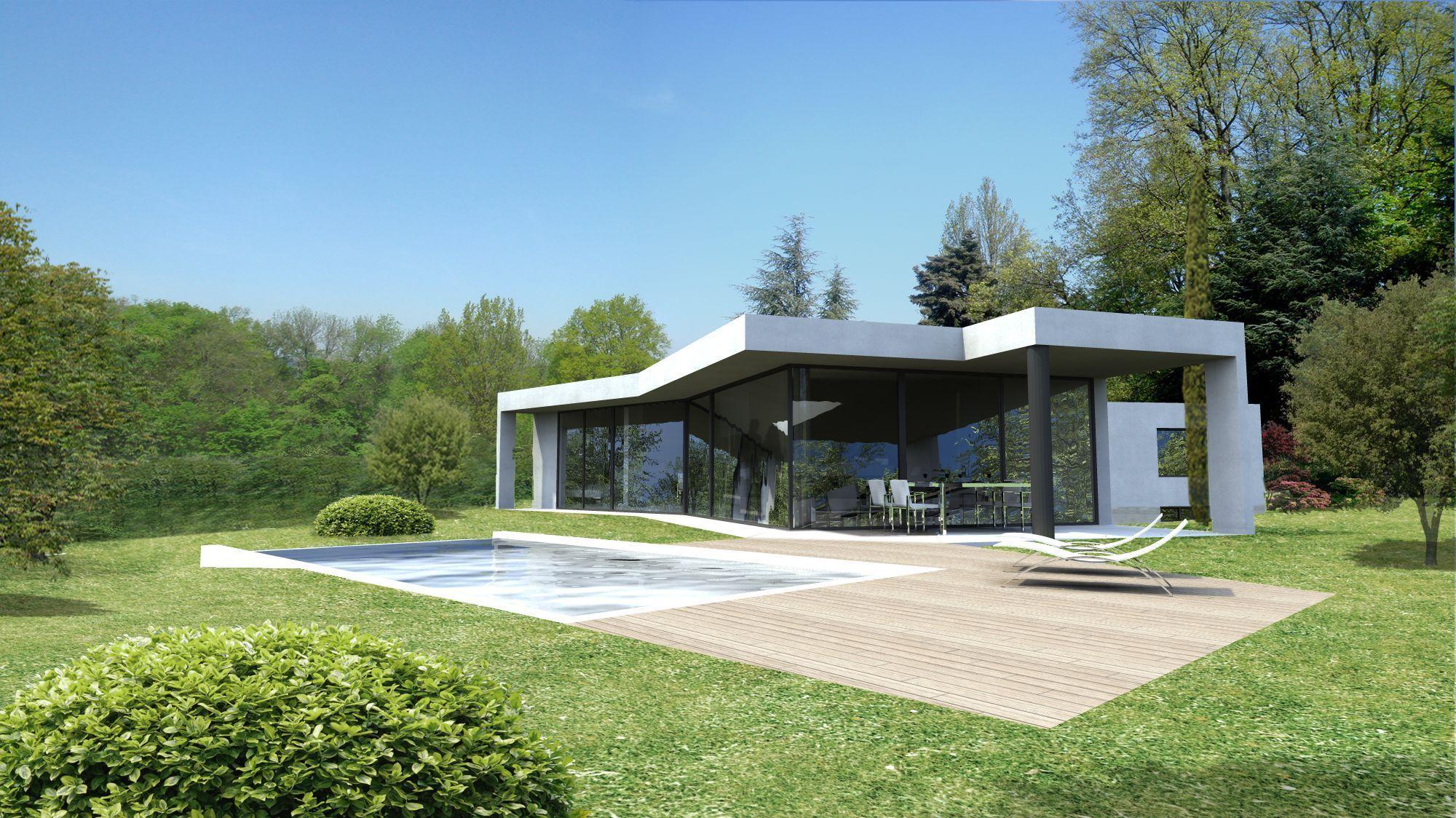 villa contemporaine aix en provence. Black Bedroom Furniture Sets. Home Design Ideas